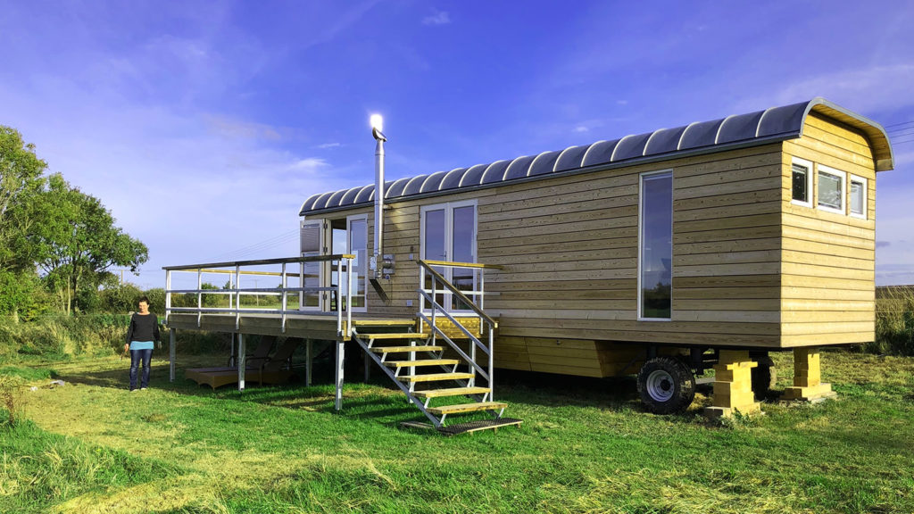 Mobile homes are a new trend in real estate