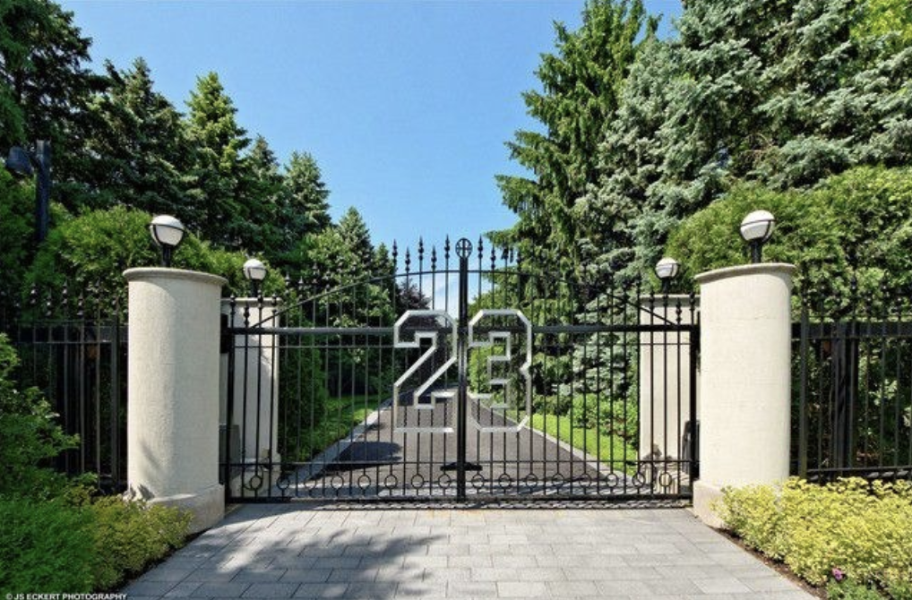 What Is Inside Michael Jordan's Property?