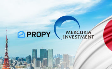 Propy secures investment from Japanese fund Mercuria and ITOCHU, recently b...