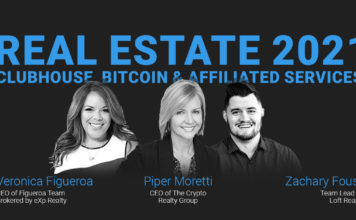 Real Estate 2021: Clubhouse, Bitcoin & Affiliated Services