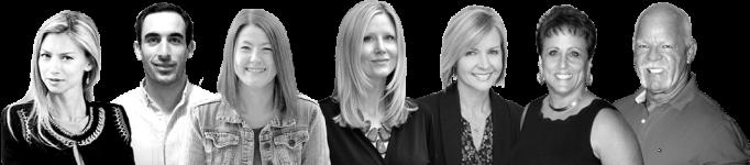 Sarah-Richardson-Melissa-Richelle-Piper-Moretti-Scott-and-Cherie-Goldsmith-William-Dickey-Natalia-Karayaneva