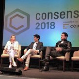 Propy's CEO at Consensus 2018