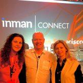 Natalia Karayaneva with Brad Inman at Inman Connect San Francisco 2018