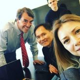 Propy's team with Tim Draper